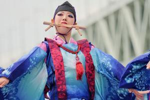 2018神戸よさこいその10(華鹿) - ヒロパンの天空ウォーカー