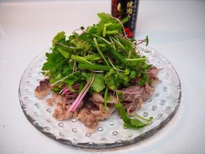牛しゃぶサラダ - sobu 2