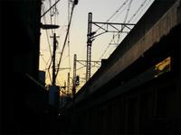 No.165_夕景の高架 - デザインスタジオ バオバブのスクラップブック