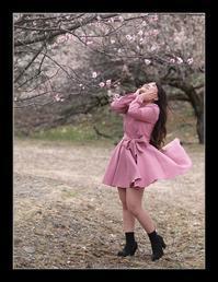 ピンクのワンピ - Desire
