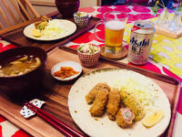 安っすい豚小間切れ肉de紫蘇ロールフライ! - ワタシの呑日記