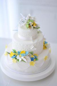 シュガークラフトコース上級 ウエディングケーキデザインレッスン - Misako's Sweets Blog