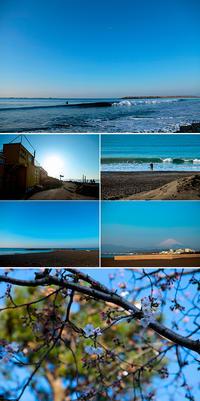 2019/03/27(WED) 春のそよ風を感じる朝です。 - SURF RESEARCH