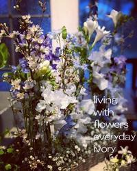 早速、お礼メールが……。 -  Flower and cafe 花空間 ivory (アイボリー)