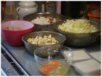さくらと大のご飯がな~い。。。大急ぎで作ったけど、喜んで食べてくれるから作り甲斐あるよ!! - さくらおばちゃんの趣味悠遊
