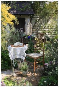 春の始まりに庭でまったりと・・ティータイムを - natu     * 素敵なナチュラルガーデンから~*     福岡で庭造り、外構工事(エクステリア)をしてます