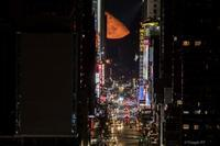 Manhattan Moon Henge is over the Times Square! 2019 - Triangle NY