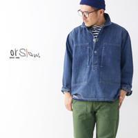 orslow [オアスロウ] PW PULLOVER SHIRTS JK [03-8041-95] プルオーバーシャツジャケット / デニムジャケット / ジージャンMEN'S - refalt blog