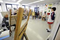 一般クラス2019年3月テーマ「チアガールを描く」ご紹介 - 大阪の絵画教室|アトリエTODAY