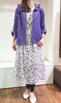 ☆troisの花柄ワンピで春のお出かけコーデ☆ - persimmon blog