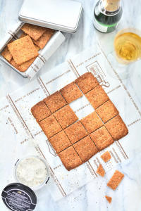 【ELLE gourmet 掲載レシピ】卵、小麦粉、バター不使用!トリュフのクラッカー - Misako's Sweets Blog