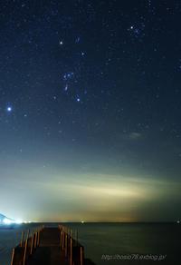 Goodbye winter constellations - デジタルで見ていた風景