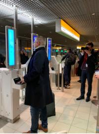 顔認証システム導入/スキポール - Nederlanden地位向上委員会