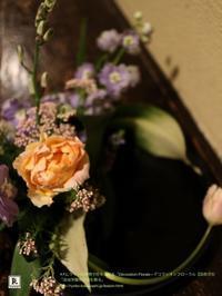 F.L.ライトの建物で花を活ける3月「明日館を飾る」 - Bouquets_ryoko