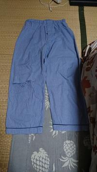 パジャマズボンの穴を繕う - わたし。 ~手芸と日録~