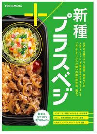 【告知 4/10~】ほっともっと新種プラスベジ【プラスベジシリーズ】 - 続・食欲記