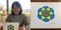 神聖幾何学ハレアート体験講座開催しました~3月~ - 暮らしの中のひとつ。