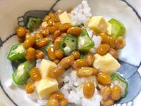 納豆ご飯★(^^♪・・・・・朝ごはん - 日だまりカフェ