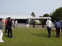 ちょっと遅い新年会ゴルフ - クローバービレッジのつぶやき