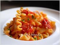 焼きトマトソースのマファルデ♪ - Romy's Mondo ~料理教室主宰Romyの世界~