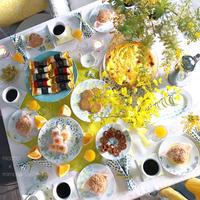 黄色のふわふわ月間最終日 - nico☆nicoな暮らし~絵付けと花とおやつ