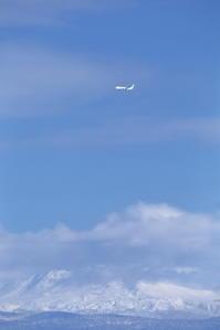 旭岳~旭川空港~ - 自由な空と雲と気まぐれと ~from 旭川空港~
