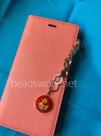 プラナカンビーズ刺繍 アヒルのチャーム - プラナカンビーズ刺繍  ビーズワークと旅