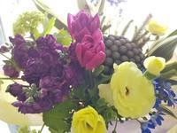 離任式  送別ようの花束 - ブランシュのはなたち