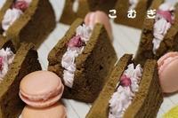 ほうじ茶シフォン・グラタンパン・マカロン - パン・お菓子教室 「こ む ぎ」