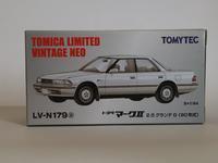 トミーテック・LV-N179a トヨタ マークII 2.5グランデG(白) - 燃やせないごみ研究所