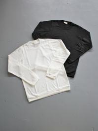 THE HINOKIOrganic Cotton L/S T-Shirt - 『Bumpkins putting on airs』