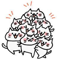 ネコの自分アピール(岡) - 柚の森の仲間たち