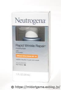 Newtrogena「Rapid Wrinkle Repair Moisturizer」 - 深川OLアカミミ探偵団