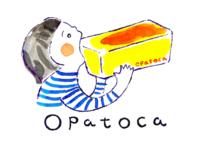 opatocaのロゴマーク描きました - 金森香恵