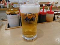 3/31夜勤明け牛焼肉ラージ定食 + ソーセージ目玉焼き + 生ビール2杯 @ 松屋 - 無駄遣いな日々