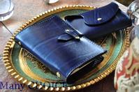 革の宝石ルガトー・システム手帳とミニマム財布・時を刻む革小物 - 時を刻む革小物 Many CHOICE~ 使い手と共に生きるタンニン鞣しの革