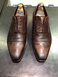 アンティーク仕上げ - シューケア靴磨き工房 ルクアイーレ イセタンメンズスタイル <紳士靴・婦人靴のケア&修理>