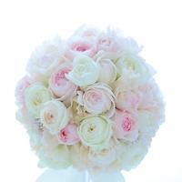 卒花嫁アルバムホテル雅叙園東京の花嫁様への春色ブーケ気持ちが形になる - 一会 ウエディングの花