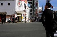 横断歩道(その3) - そぞろ歩きの記憶