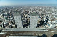 駅西の眺め - 名駅観測所