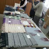 近鉄文化サロン阿倍野文化祭は無事終了しました。 - 手染めと糸のワークショップ