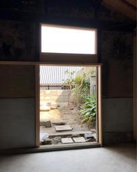 奈良町町家再生計画    納屋工事3 - 国産材・県産材でつくる木の住まいの設計 FRONTdesign  設計blog