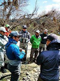 週末は広島の本流ウエットフライ&フラットサイトフィッシングスクールでした。 - Fly Fishing Total Support.TEAL