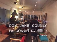 JAKE・OGK・COUMLY    NEW PV撮影 @Luzcafe - 裏LUZ