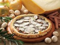 マッシュルームのピザがめちゃくちゃ美味しい - くにまんが日記