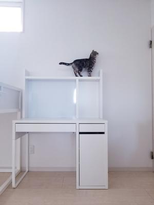 【IKEA】学習机はシンプルなMICKEのホワイトにしました - ねことおうち
