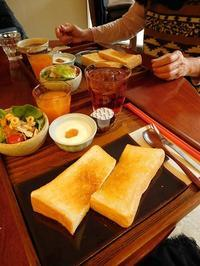 12時のご飯タイム - eri-quilt日記3