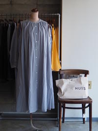 HUIS./ゆるふわコットンノースリーブワンピース - UTOKU Backyard