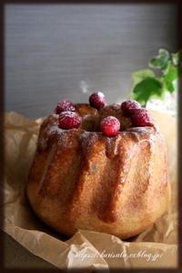クグロフ ~Cranberry brown~  & Flatbread - KuriSalo 天然酵母ちいさなパン教室と日々の暮らしの事