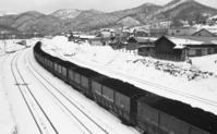 80年代夕張143・清水沢駅 - 萩原義弘のすかぶら写真日記